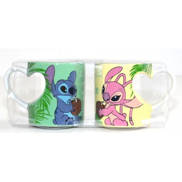 Stitch and Angel Couple Mug Set, Disneyland Paris