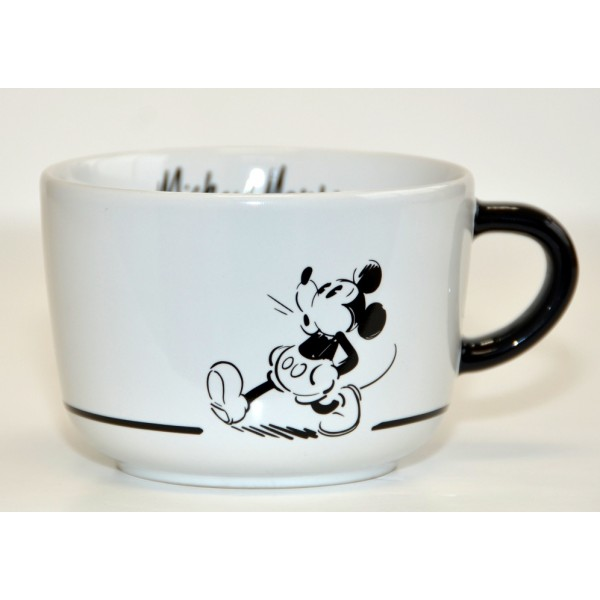 Mickey Mouse Comic Black and White cup, Disneyland Paris