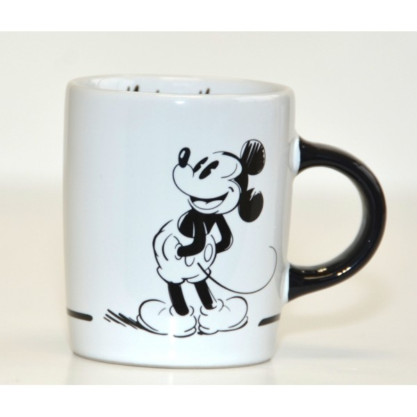 Disneyland Paris Mickey Mouse Comic Black and White espresso cup