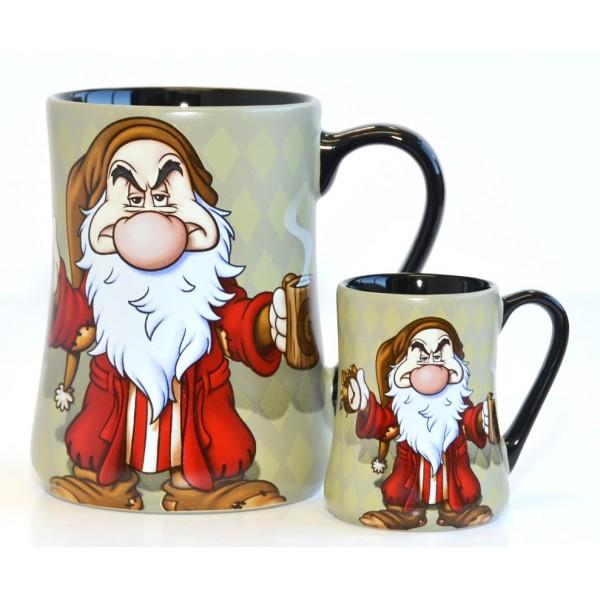 Disneyland Paris Grumpy Mornings Mug and espresso cup Set