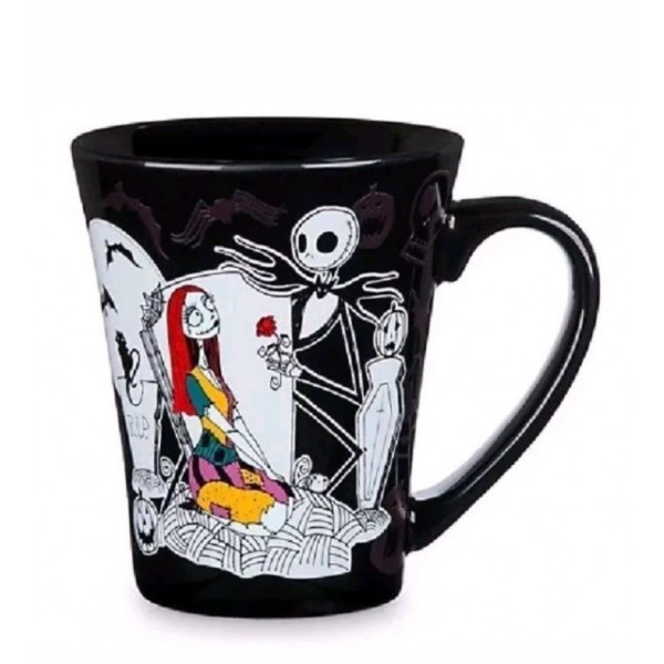 Disney Nightmare Before Christmas Jack Skellington Sally Colour Changing