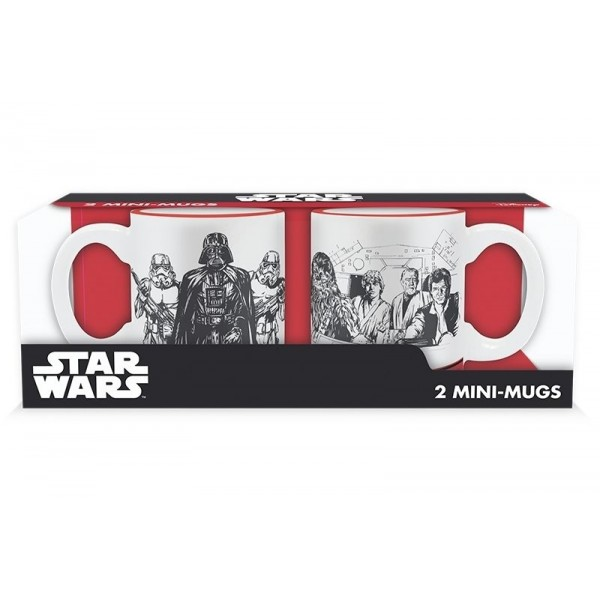 Star Wars 2 mini-mugs set, Empire VS Rebel