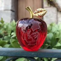 Disney Snow White Red Apple, Arribas Glass Collection