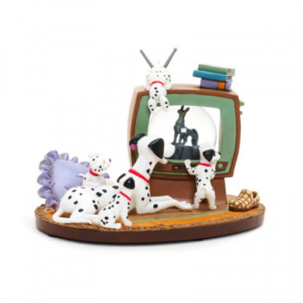 Disneyland Paris 101 Dalmatians Snow Globe Ornament