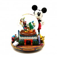 Mickey and Friends Deluxe Musical Snow Globe