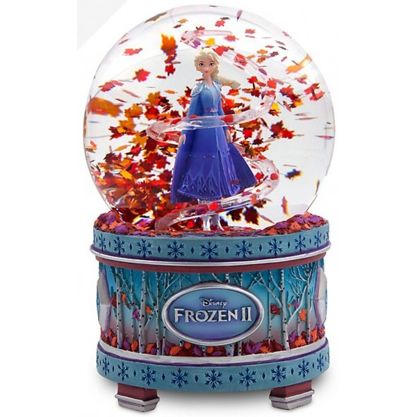 Frozen 2 Musical Snow Globe Limited Release, Disneyland Paris Original