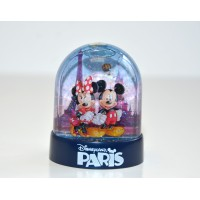 Disneyland Paris Plastic Snow Globe