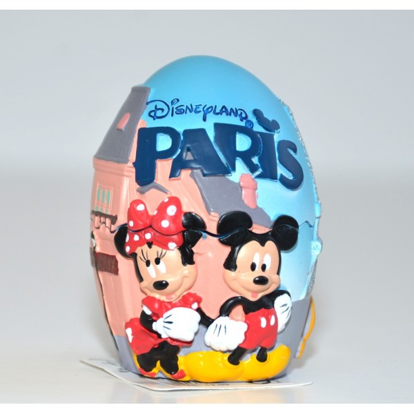Disneyland Paris Mickey and Minnie in Paris egg