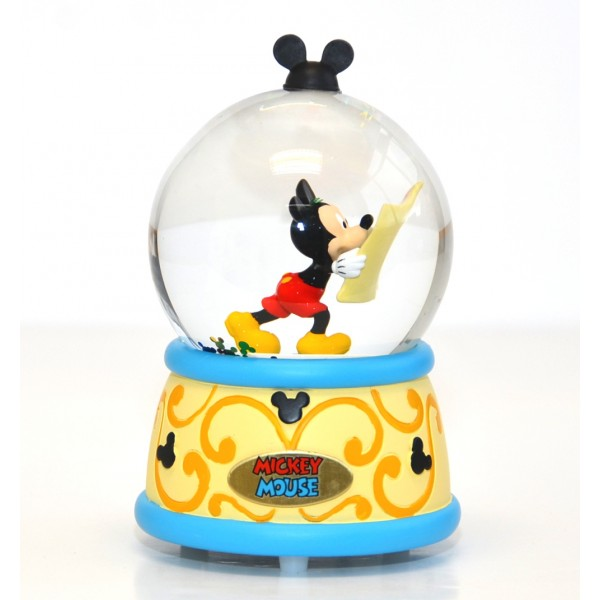 Disney Mickey Mouse musical snow globe