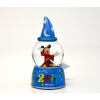 Disneyland Paris 2017 Mickey Mouse Snow Globe