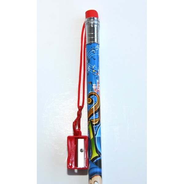 Disneyland Paris 2016 Jumbo Pencil Sharpener and Top Eraser
