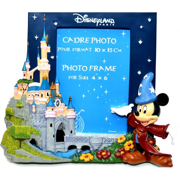 Disneyland Paris 3D Mickey Mouse Fantasia Photo Frame