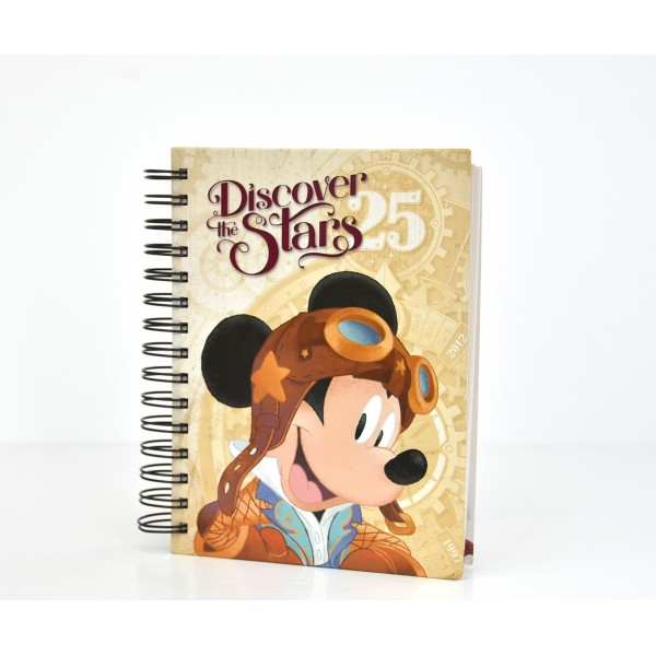Disneyland Paris 25 Anniversary Discover the Stars Journal Notebook