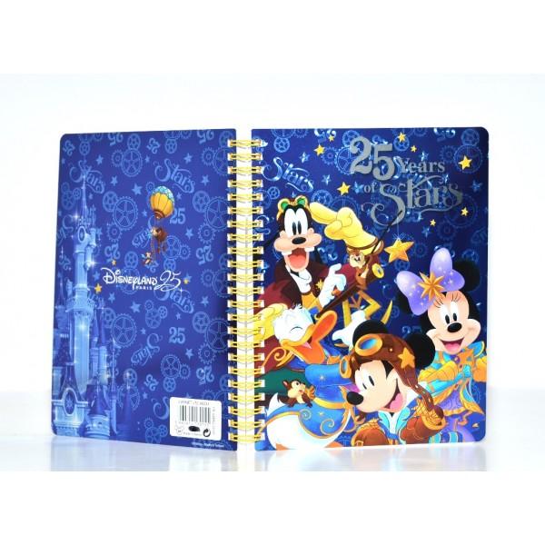 Disneyland Paris 25 years of Stars Journal Notebook