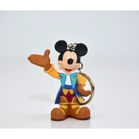 Disneyland Paris 25th Anniversary 3D Mickey Mouse key ring