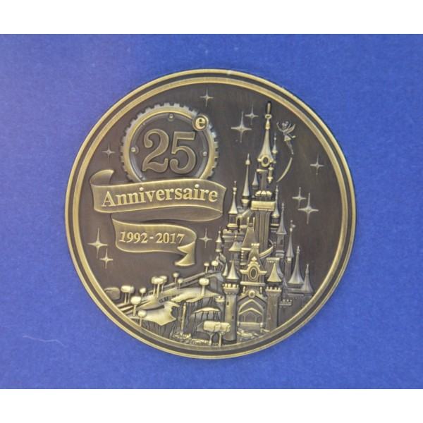 Disneyland Paris 25th Anniversary Map Limited Edition