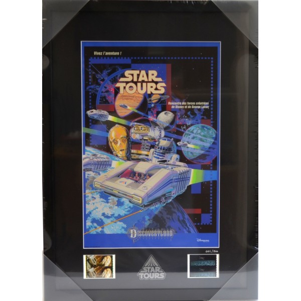 Attraction Star Tours Framed Poster from Walt Disney Imagineering Art Collection (1 of 500)