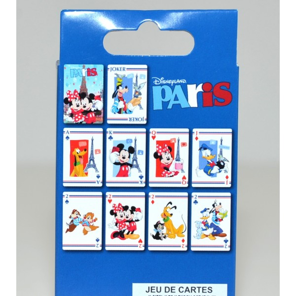 Disneyland Paris Characters Playing Cards
