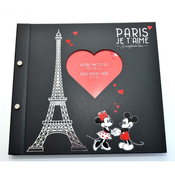 Disneyland Paris Mickey and Minnie Photo Album Scrapbooking