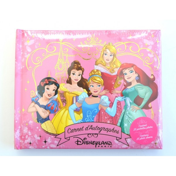 Disneyland Paris Princess Autograph Book