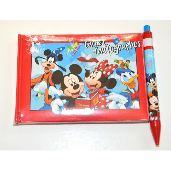 Disneyland Paris Autograph Book and Pen