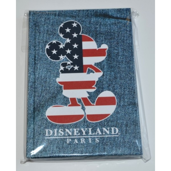 Disney Mickey Stars and Stripes Notebook
