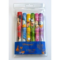 Disneyland Paris Collectable Characters ballpoint pens,Set of 6