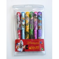 Disneyland Paris Attractions ballpoint pens,Set of 6