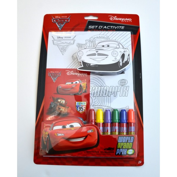 Disney Pixar Cars 2 Activity Kit