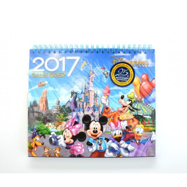 Disneyland Paris 2017 Desk Calendar
