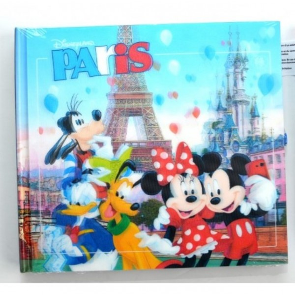 Mickey Mouse and Friends in Disneyland Paris Autograph Book