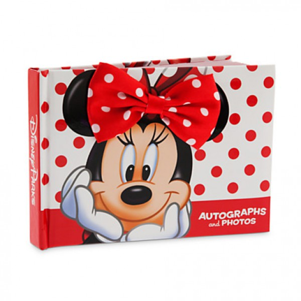 Minnie Mouse Autograph Book
