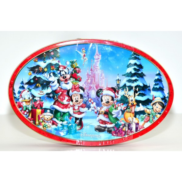 Disneyland Paris Christmas Chocolate Tin