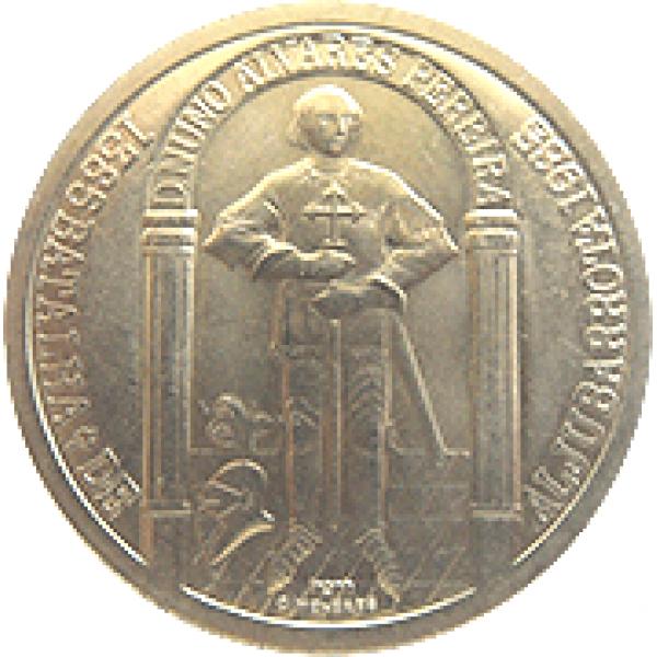1985 Portugal 100$00 D. Nuno Alvares Pereira - Batalha Aljubarrota
