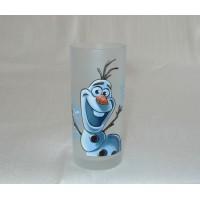 Disneyland Paris Olaf Character Drinking Glass