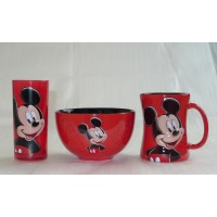 Disney Mickey Mouse Character Breakfast Set