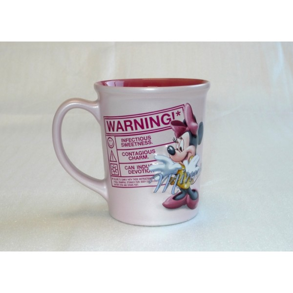 Disney Minnie Mouse Warning Coffee Mug