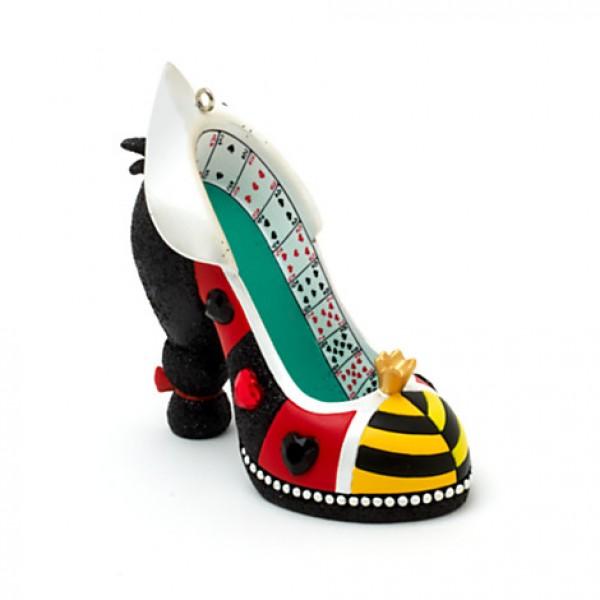 Queen Of Hearts - Disney villain - Miniature Decorative Shoe