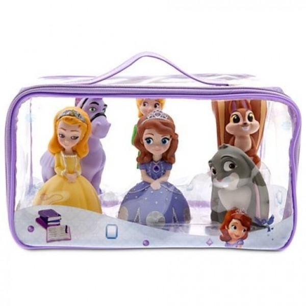 Sofia the First bath set