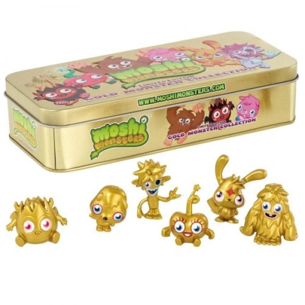 Moshi monsters, Gold monster collection