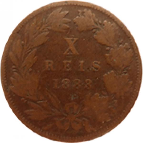 1883 D. Luis I XX Réis