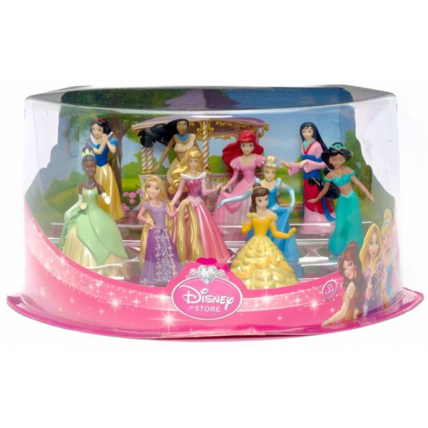 Disney Princess Figurine Deluxe Play Set (rare)