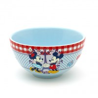 Disneyland Paris Authentic Bistro Collection Mickey and Minnie Mouse Bowls x 2
