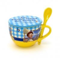 Disneyland Paris Authentic Bistro Collection Ratatouille Cup, Coaster and Spoon