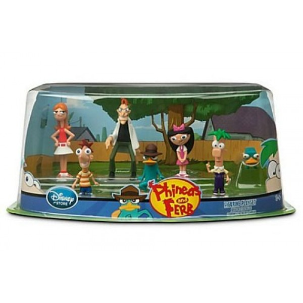Disney Phineas and Ferb Playset