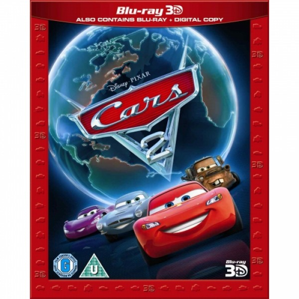 Cars 2 3D - Super Play (3D Blu-Ray, 2D Blu-Ray and Digital Copy) Blu-ray