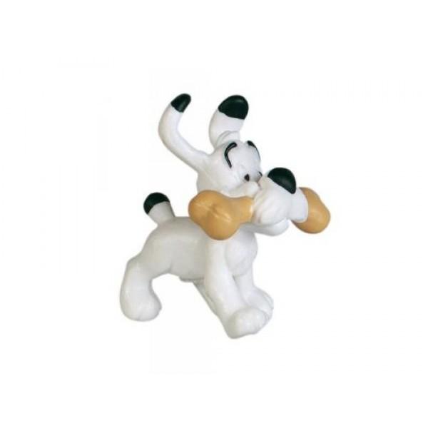 Asterix & Obelix - Dogmatix with Bone Figurine (Very Rare)