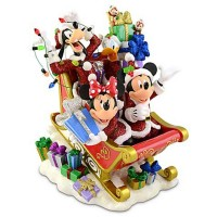 Mickey Mouse and Friends Sleigh Figurine