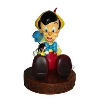 Pinocchio and Jiminy Cricket Figurine
