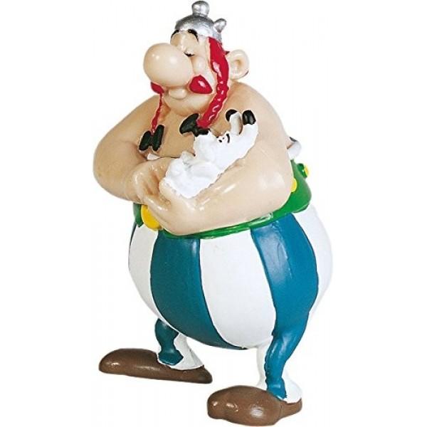 Asterix & Obelix - Obelix with Dogmatix Figurine